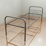 Кровати металлические для гостиниц, кровати для хостелов, кровати для санатория оптом