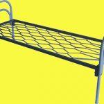 Кровати металлические оптом недорого
