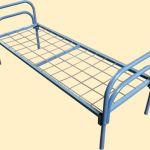 Металлические кровати для санатория, кровати от производителя