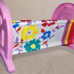 Кроватка для кукол до 50 см. анюта-2 maximus