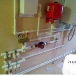 Монтаж систем отопления,водопровода и канализации.