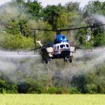 Послуги вертольота з внесення фунгіцидів