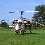 """Услуги вертолета по обработке озимого гороха """"НС Мороз"""""""