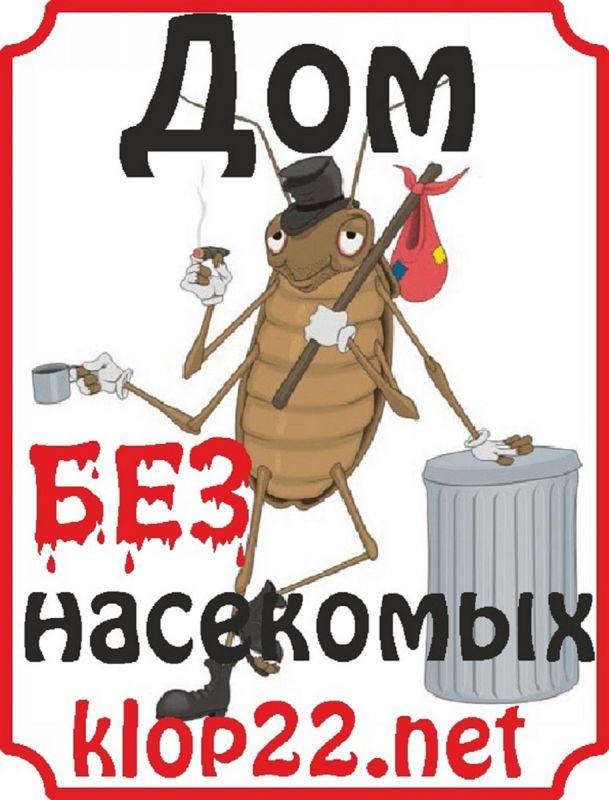 Дом без насекомых (дез.станция) - уничтожение любых насекомых!