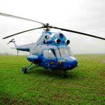Авиационное внесение селитры на пшеницу
