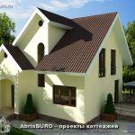 Красивые, удачные и уютные проекты коттеджей и загородных домов
