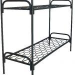 Кровати металлические для госпиталей, кровати для рабочих