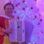 Баянист Виктор Баринов лучший выбор на праздник.