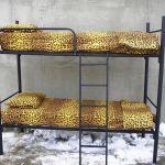 Металлические кровати для общежитий, хостелов, гостиниц, одноярусные и двухъярусные