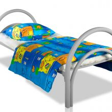 Заказать в детские дома кровати металлические