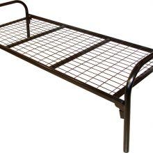 Железные, металлические кровати для турбаз