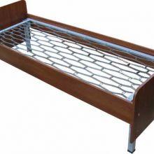 На заказ кровати металлические с ДСП спинками