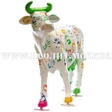 Садовая фигура корова реального размера