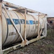 Танк — контейнер нержавеющий, объем -21 куб.м., термос, рубашка