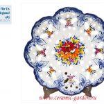 вазочка в стиле кантри ручная роспись цветы
