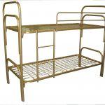 Кровати металлические для строителей в бытовки и вагончики